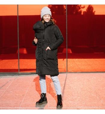 Зимняя слингокуртка 3в1 Love&Carry Черная