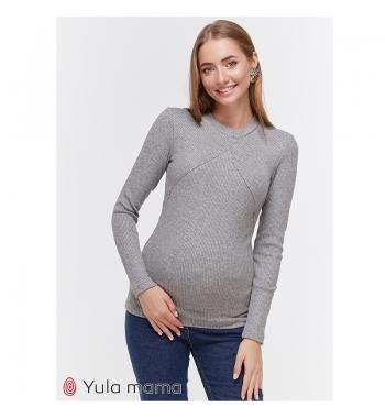 Лонгслив для беременных и кормящих Юламама STEFANIA WARM