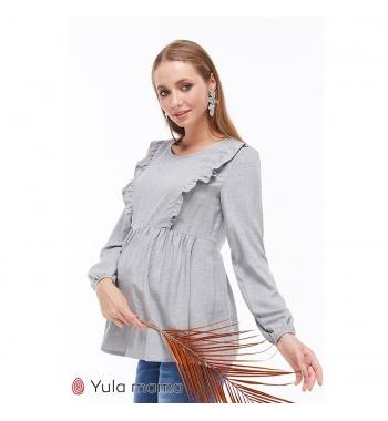 Блузка для беременных и кормящих ЮлаМама MARCELA