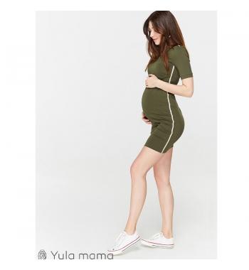 Платье-туника для беременных и кормящих Юла мама GINA DR-29.022