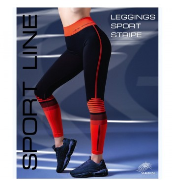 Леггинсы Giulia Leggings sport Strip 01