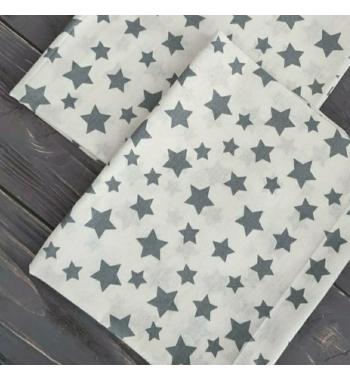 Ситцевая пеленка Звезды 100x80