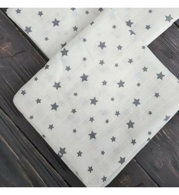 Муслиновая пеленка Звезды