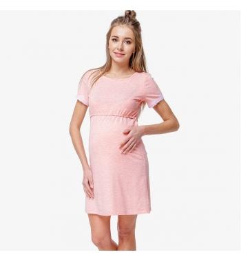 Ночная рубашка для беременных и кормящих Peach Coton