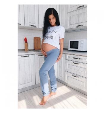 Брюки для беременных To be Серый
