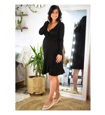 Нарядное платье для беременных и кормящих To be