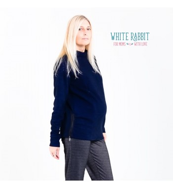 Свитерок Lana (синий меланж) White Rabbit